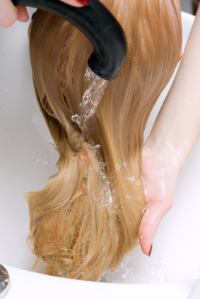 washing remy hair triple weft hair extensions