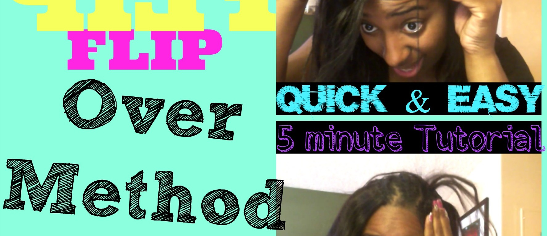 How To Do A Full Sew In With Invisible Part Using Flip Over Method