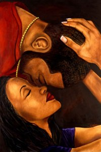 Love is all around you. it comes in all shapes colors and sizes. This intimate image of black love is simply beautiful and powerful.