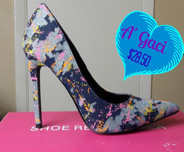 A'Gaci Denim Shoes