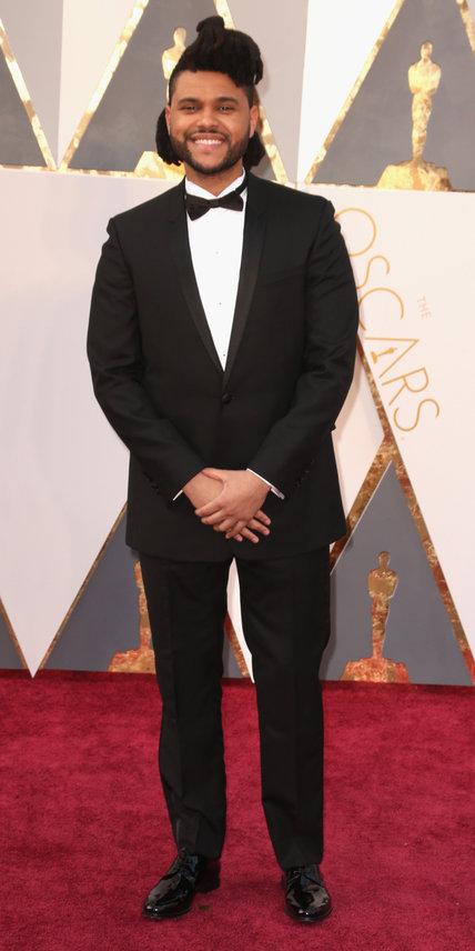 The Weeknd Oscars arrivals