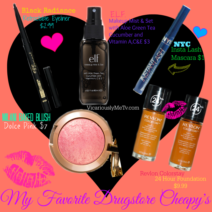 Affordable makeup cosmetics that work! Best cosemtics
