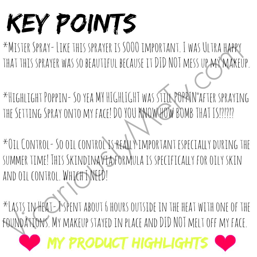 Skindinavia Makeup Primer & Setting Spray – Vicariously Me Blog ...