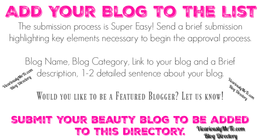 Beauty Blog Directory Banner