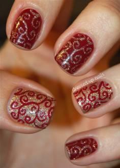 Short Nail Design for holidays