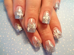 Winter Themed nails