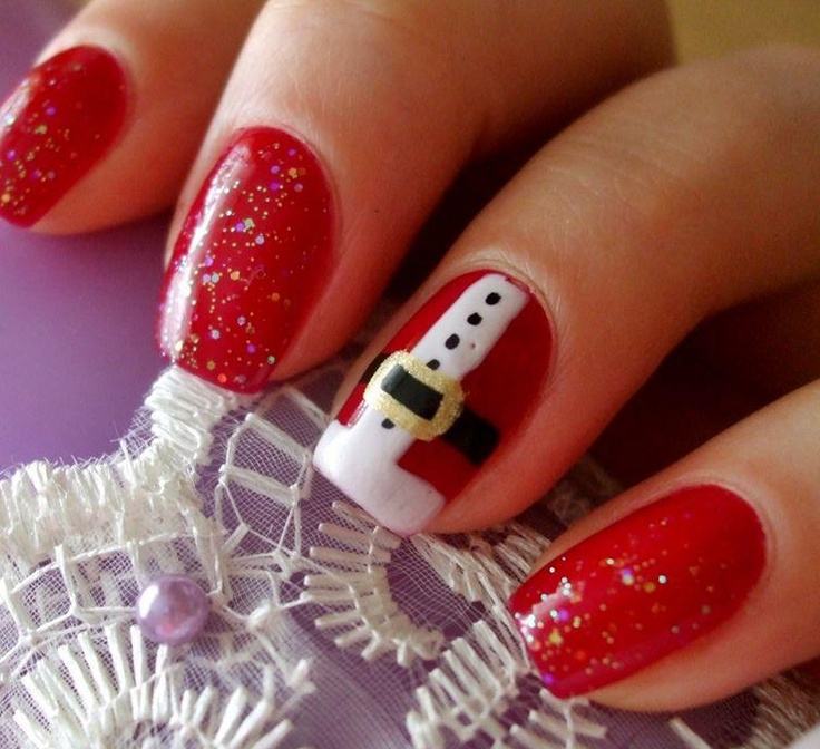 7 Cute Short Nail Designs for Christmas & Winter Season ...