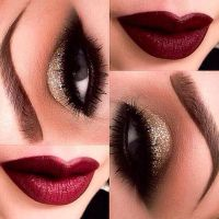 6 Glam Holiday Makeup Looks