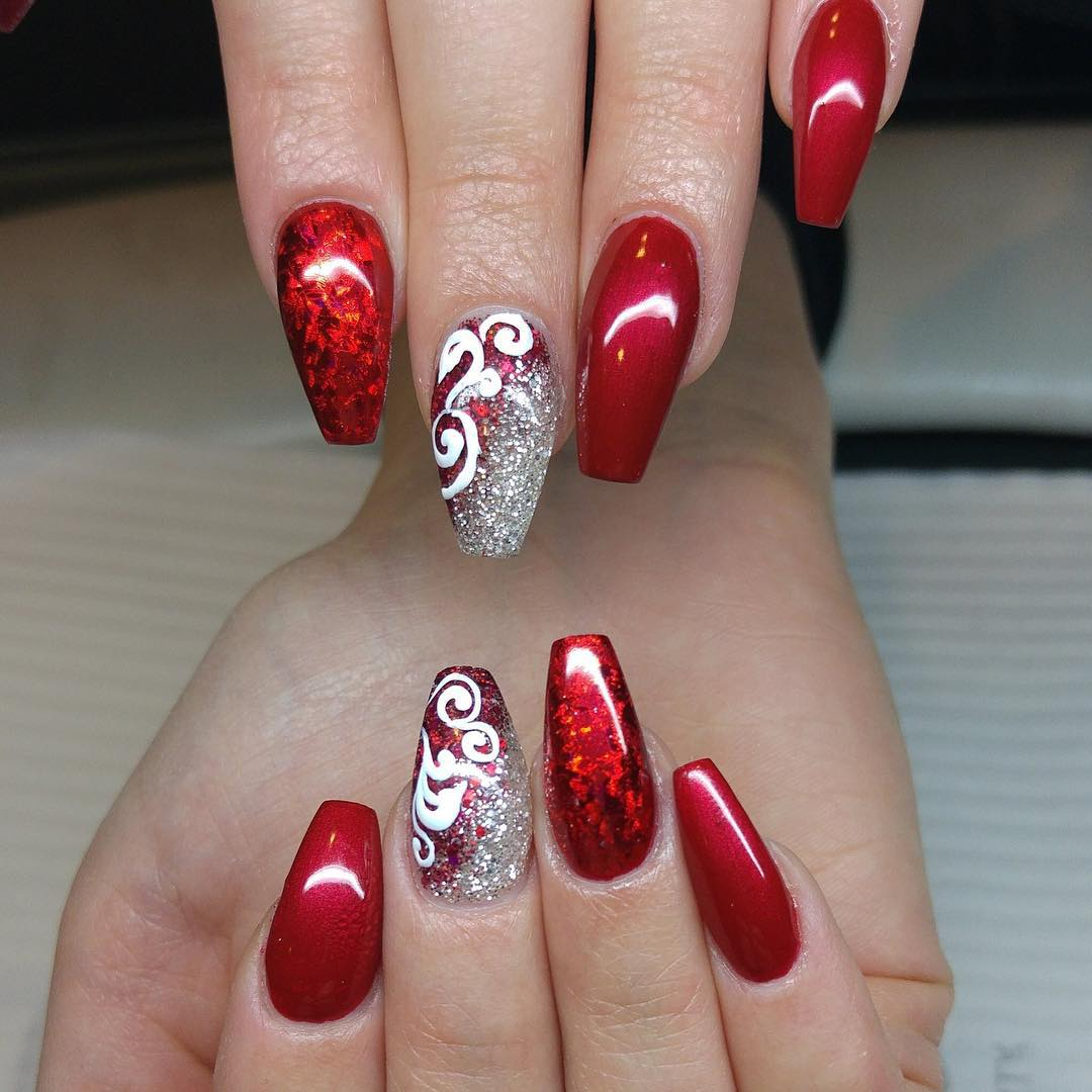Nail Designs Perfect For The Holiday Season Vicariously Me
