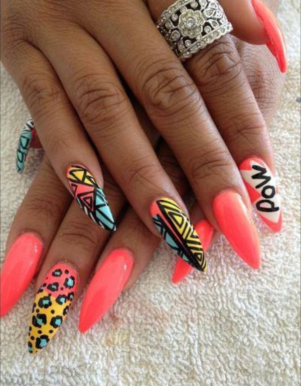Springsummer Nail Designs For Nail Junkies Vicariously Me