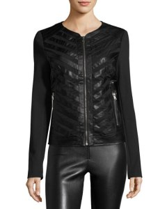 Gift idea vegan leather jacket