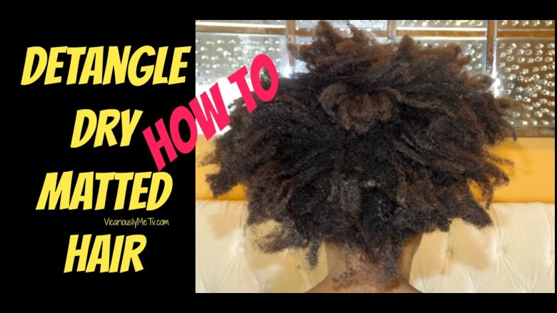 How To Detangle Knotted Hair Anexa Beauty