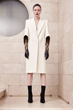 Atelier Versace Long Trench Stylized gloves ugh what more to say!
