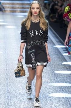 Dolce and Gabbana Sweat Shirt Dress