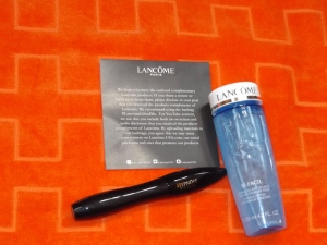 Lancome Bi-Facil and Hypnose Mascara