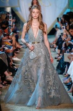 Elie Saab Sequin embroidered dress