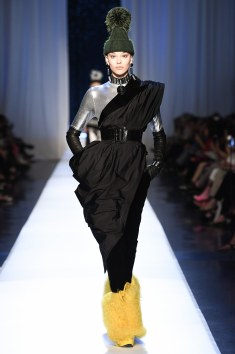 Jean Paul Gaultier ... I love a good one should piece. I love the couture chic feel of this ensemble. In a different form I would certainly wear something inspired by this look.