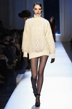 Jean Paul Gaultier Oversized sweater dress!! This would be Bomb with them Thigh Highs tho!!!