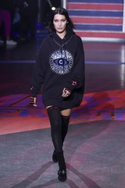 The Eye of Horus Hoodie Dress w/ Thigh Highs! Yessss Tommy