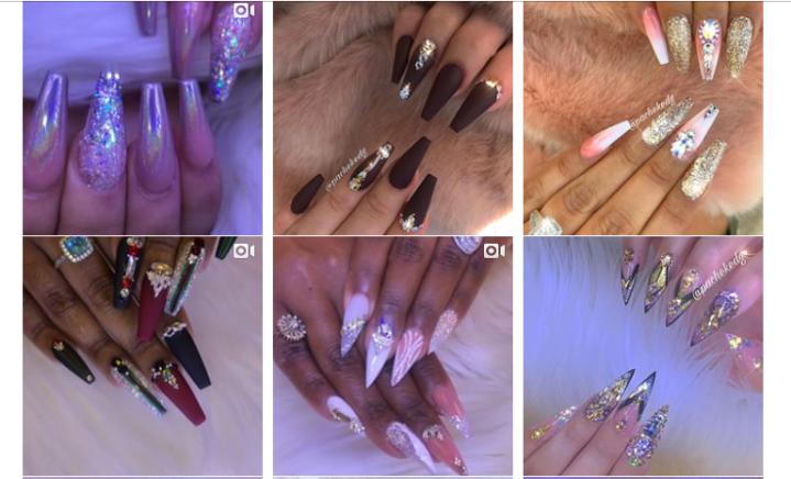 Favorite IG nail designs