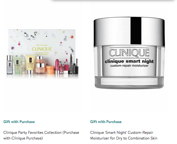 Clinique Bonus Gifts Deals Savings