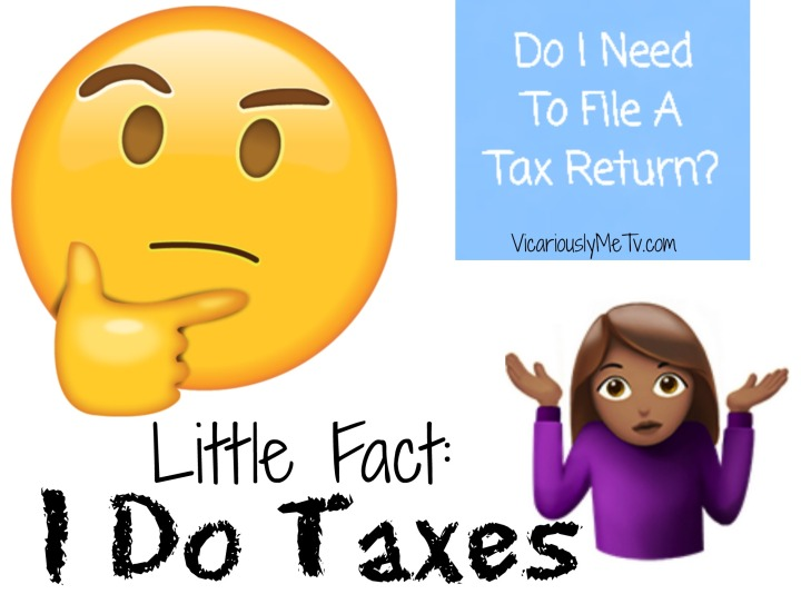 Taxes and blogging