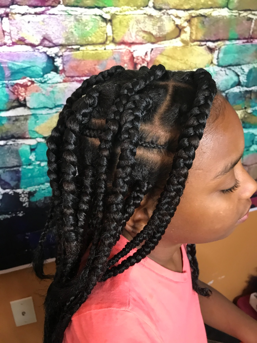 Box Braids For cute girls