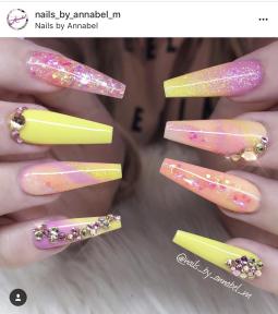 Ballerina Nail designs