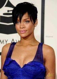 Rihanna short hair cut