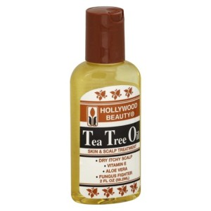 Tea tree oil nourishs the hair follicles