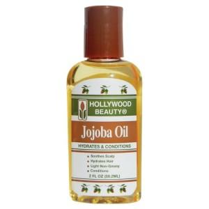 Natural hair growth. Jojoba oil