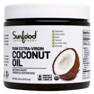 Coconut Oil Conditions hair