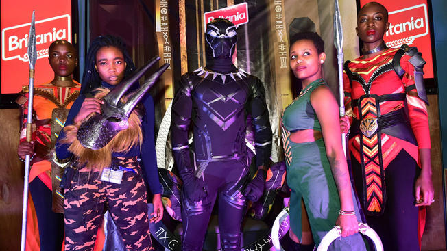Black Panther Cosplay and Anime