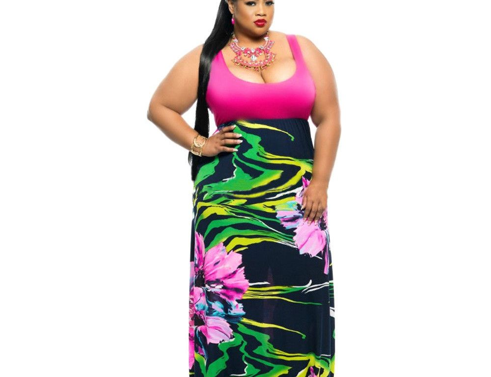 Plus Size Cant Wear Floral Print Can They Use Cut And Design To