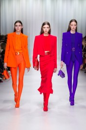 Justine Asset, Lea Julian, Soso Korell Versace Ready To Wear Collection
