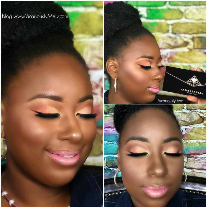 Spring Makeup Look using Prism Palatte