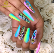 Find this nail tech @Chaunlegend