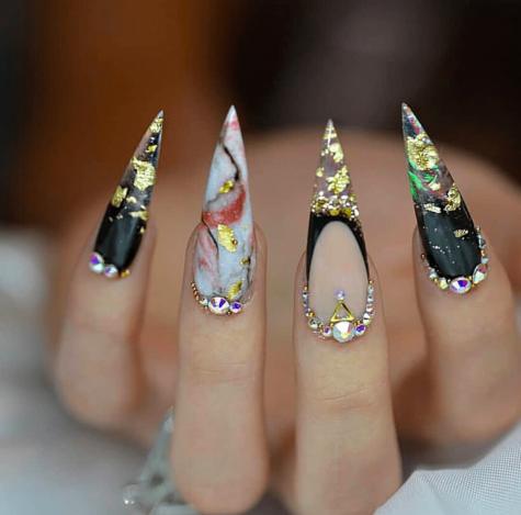 Stiletto nail design 40 best stiletto nails