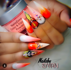 Find this nail tech on IG @Nailsbydyan