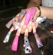 Ugly nail trends ugliest nails