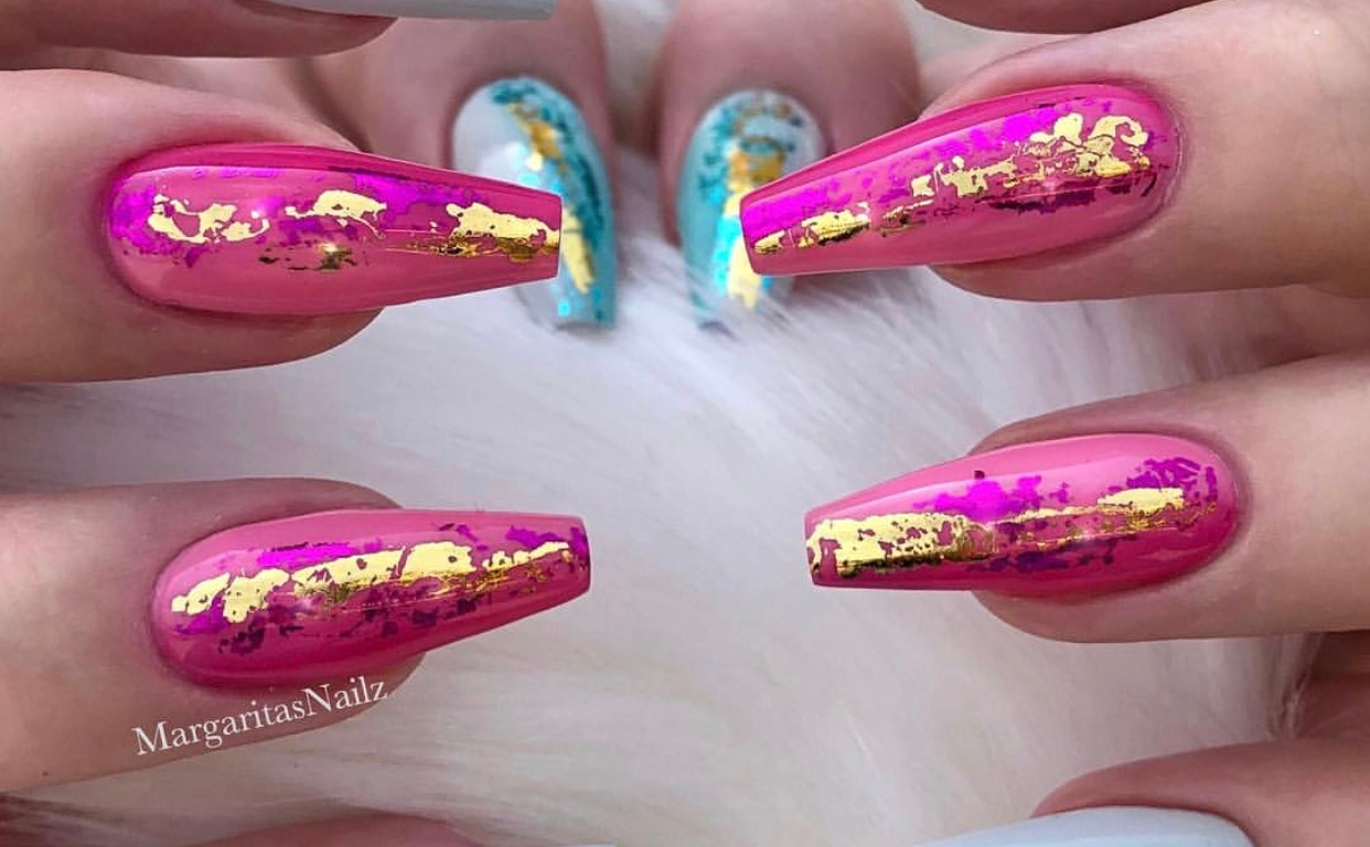 Beautiful Instagram Acrylic Nail Designs – Vicariously Me | Natural ...