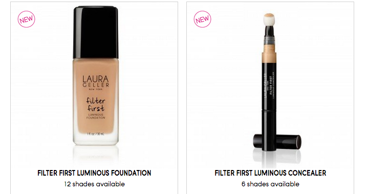 laura geller foundation and concealer