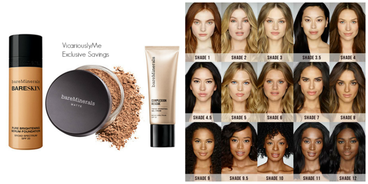 Vicariously Me bare Minerals Exclusive Savings