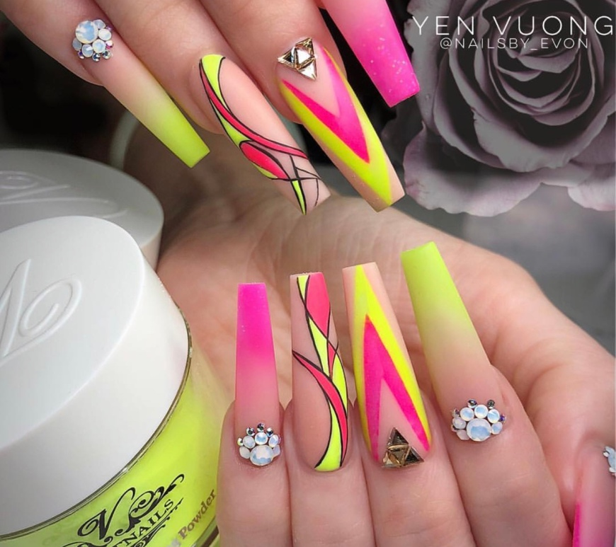 stiletto nails – Vicariously Me | Natural Hairstyles | Fashion ...